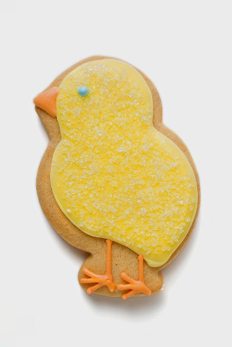 Easter biscuit (yellow chick)