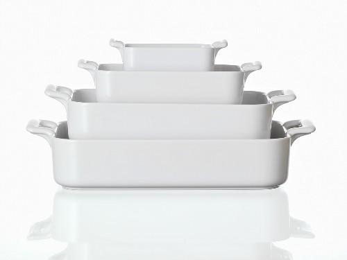 Baking dishes, nested