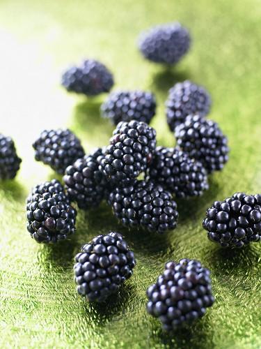 Several blackberries