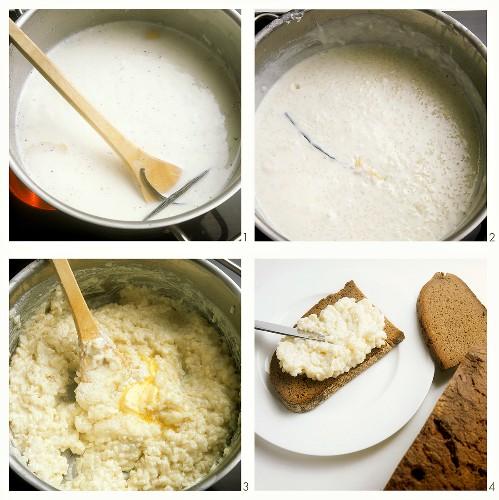 Making rice pudding