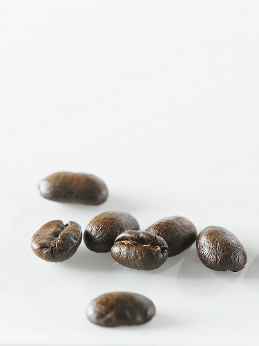 Several coffee beans
