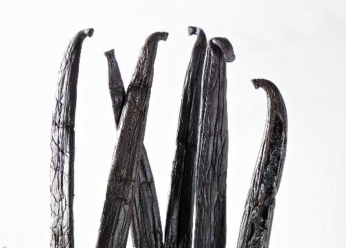 Several vanilla pods (detail)