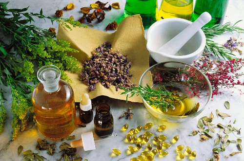 Assorted natural remedies