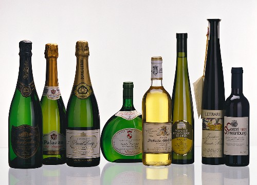 A Selection of Dessert Wines & Champagne