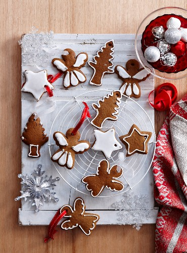 Gingerbread Christmas tree decorations