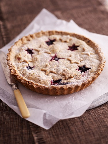 A blueberry pie for Christmas
