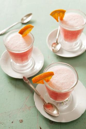 Rhubarb drinks