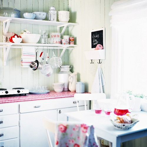 Interior picture from country kitchen