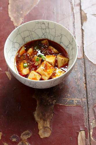 Mapo Tofu (Scharfes Tofugericht, China)