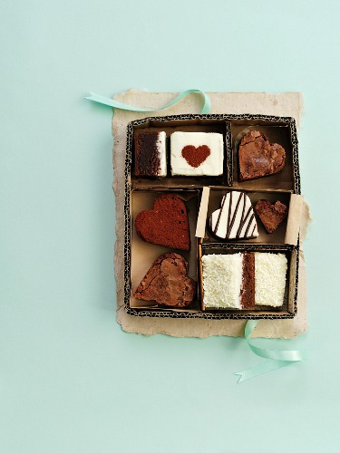 Assorted petit fours as a gift