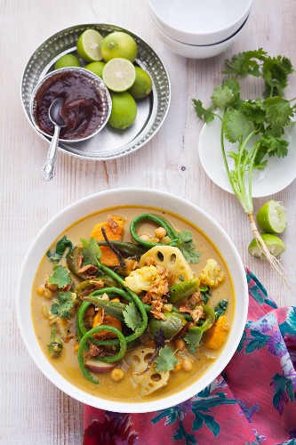 Kehrala vegetable curry, India