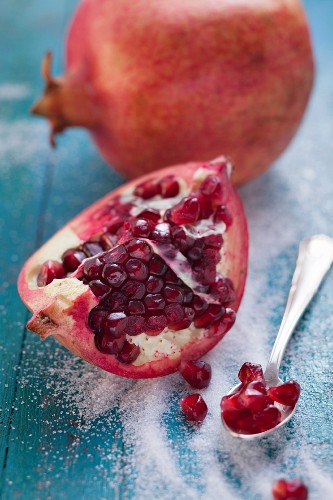 Pomegranate and pomegranate seeds