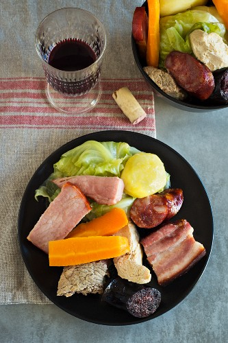 Cozido a Portuguesa (mixed boiled meat, Portugal)