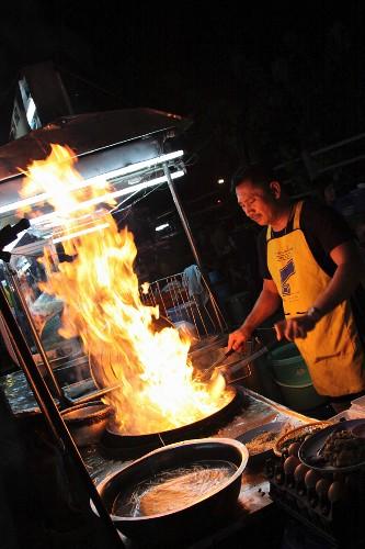 A street chef, Thailand