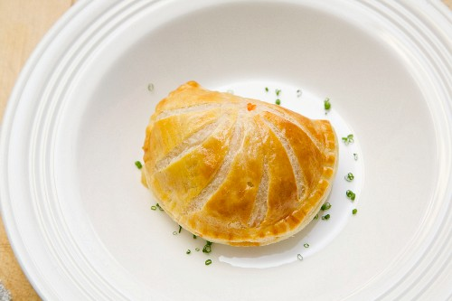 A puff pastry pasty