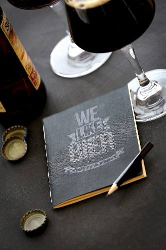 Tasting notes book: We like Bier