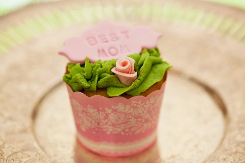 A cupcake for Mother's Day