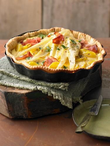 Kartoffel-Pastinaken-Tarte