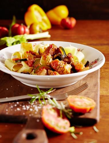 Mediterranean turkey goulash
