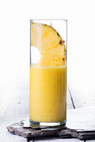 A pineapple smoothie