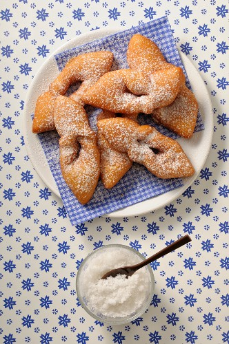 Bugnes (deep-fried pastries, France)