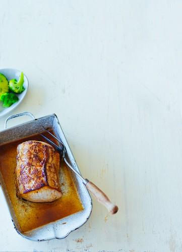 Juicy roast pork (Paleo)