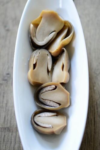 Asiatische Strohpilze