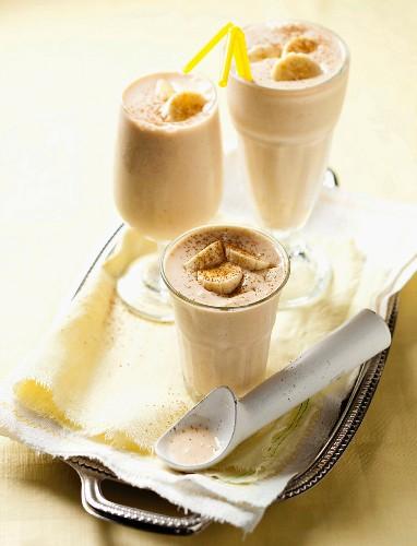 Amarula and banana milk shake