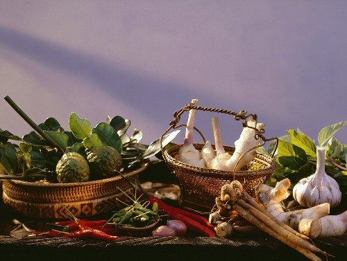 Several Ingredients for Asian Dishes