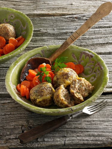 Madame meatballs with carrots