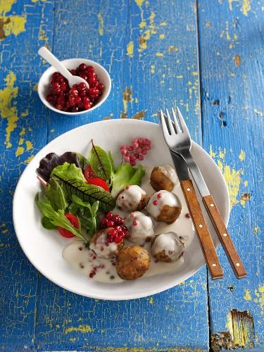 Swedish Köttbullar (meatballs)
