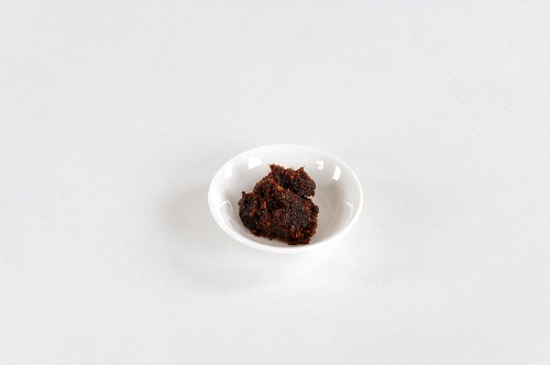A bowl of chilli paste