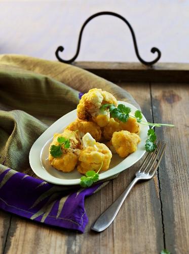 Pakora in chickpea dough (Avurvedic cuisine)