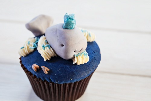 A cupcake for a children's party