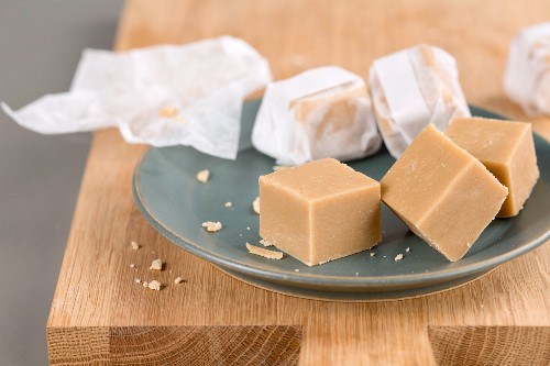 Erdnussbutter-Fudge