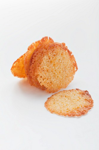 Almond and orange wafers