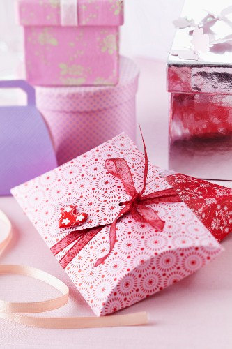Various gift boxes
