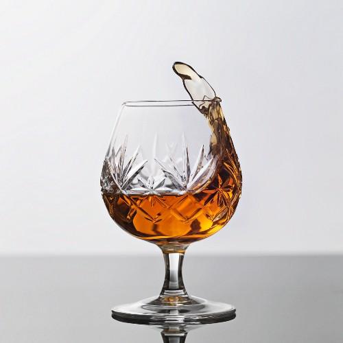 Ein Glas Brandy