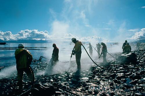 Exxon Valdez oil-spill