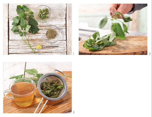 How to prepare citrus tea with herbs