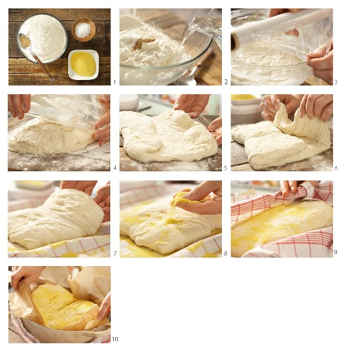 How to bake wheat bread in a pot