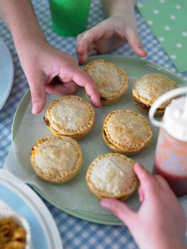 Kids Party Meat Pies