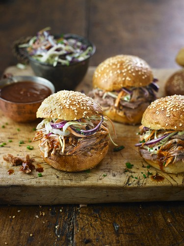 Maple Mustards Pulled Pork Buns