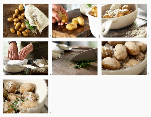 How to make wrinkled potatoes