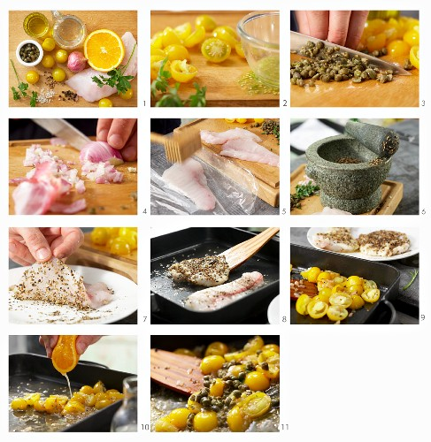 How to prepare monkfish fillets