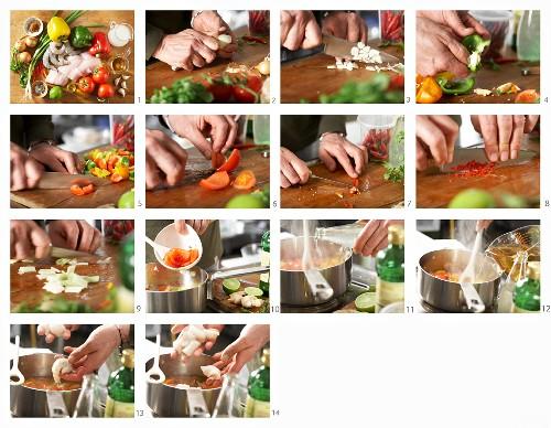 How to make a Brazilian fish pot