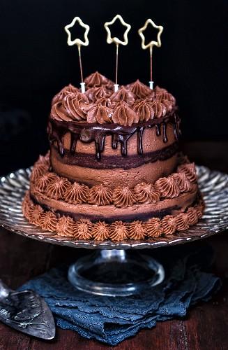 New Year's Day cake