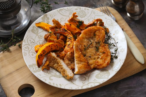 Veal with pumpkin