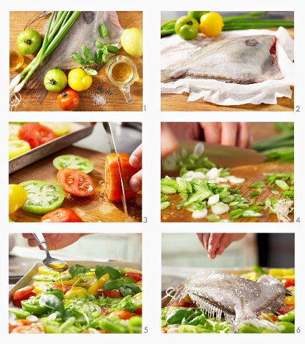 How to make John Dory fish on a bed of tomatoes