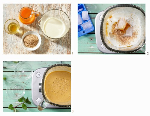 How to make a seaberry and kefir drink with honey and wheat bran